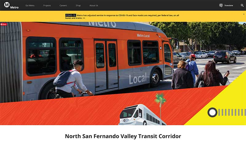 Jose Mier and North Valley Transit Corridor site