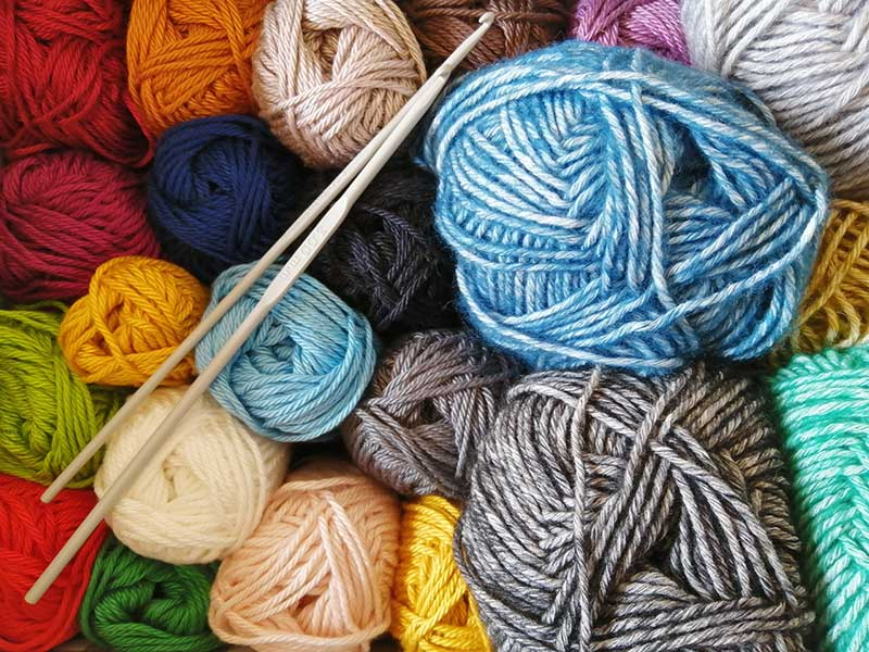 knitting as a hobby by Sun Valley Jose Mier